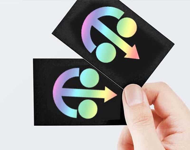 雷射膜-特殊效果印刷-伸長彩色印刷