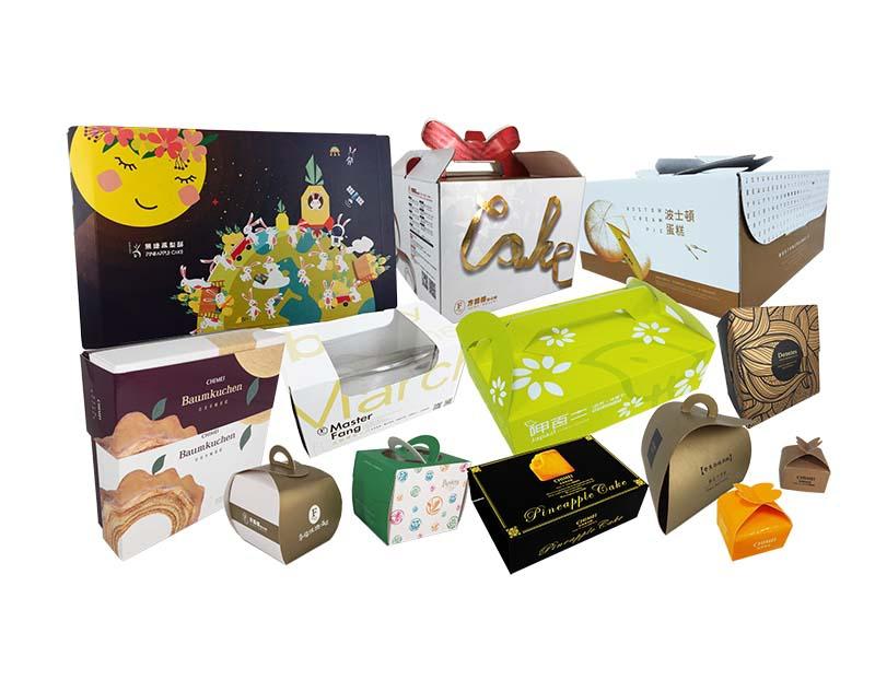 糕點食品包裝-伸長彩色印刷