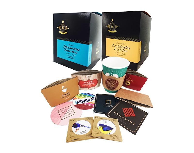 咖啡飲品酒類包裝-伸長彩色印刷