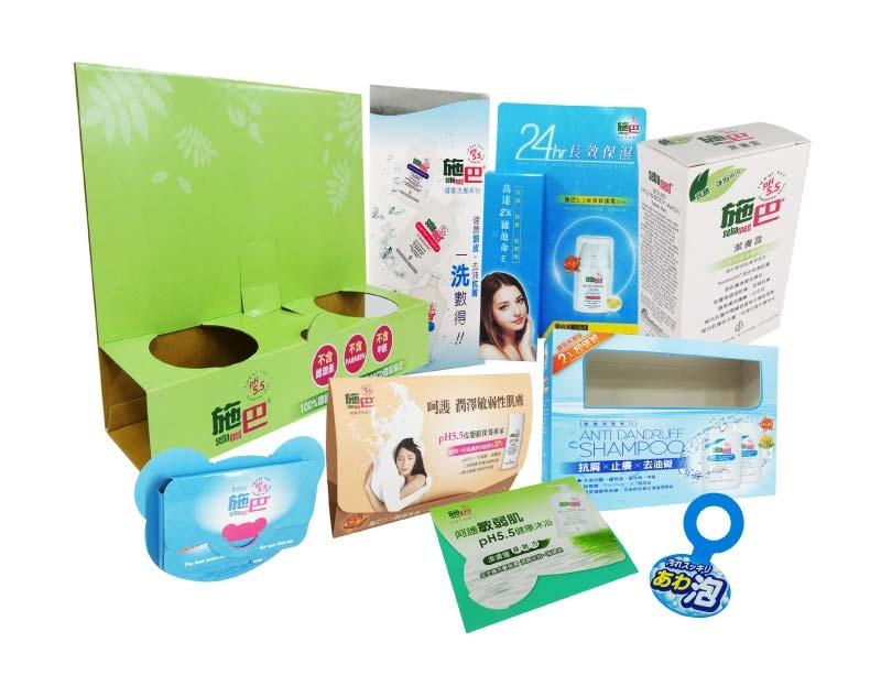化妝保養品包裝-伸長彩色印刷