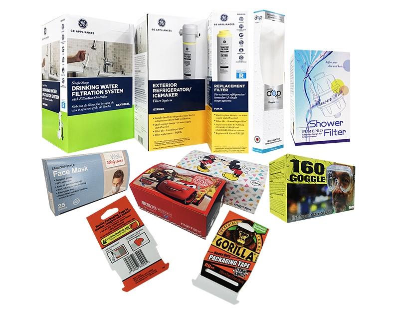 電子工商業包裝-伸長彩色印刷