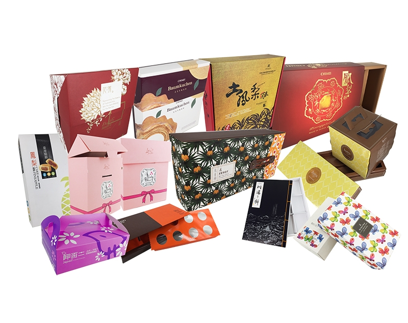 禮品禮盒包裝-伸長彩色印刷