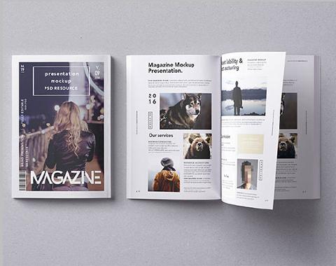專業型錄印刷-伸長彩色印刷